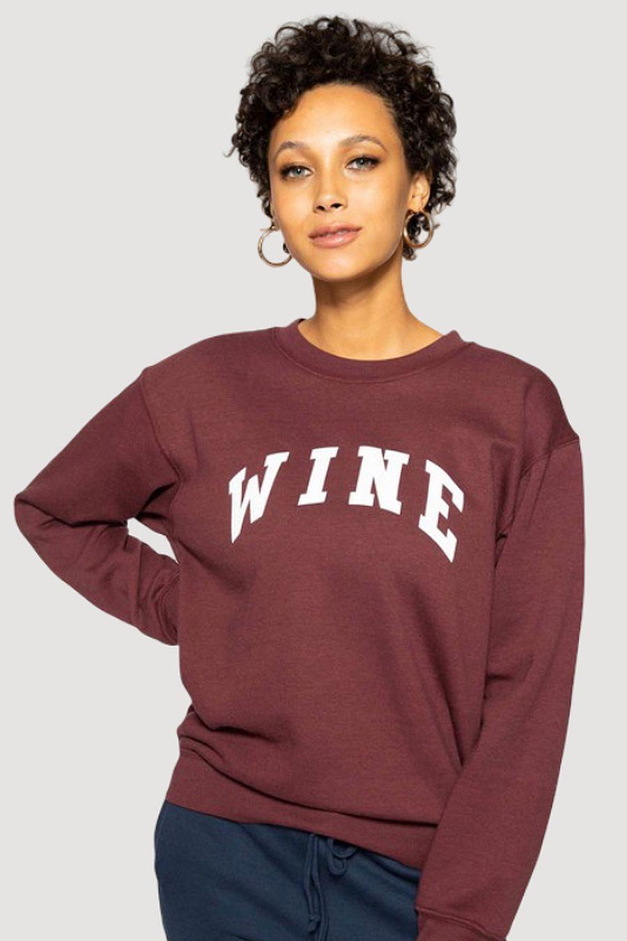 Sub_Urban Riot Wine Willow Sweatshirt