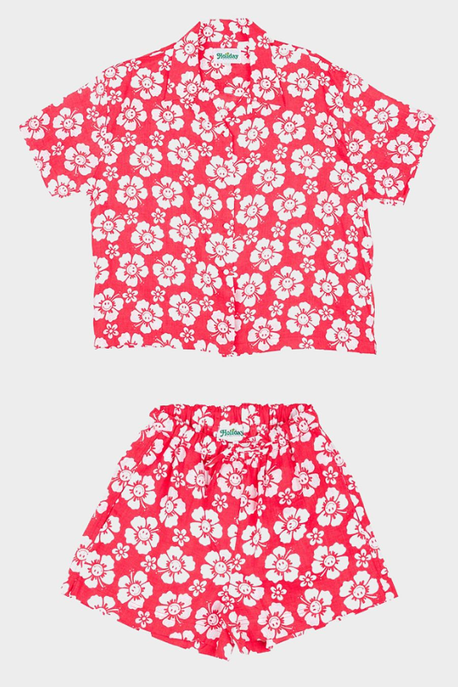 Holiday The Label Pyjama Short Set - Happy Hawaii