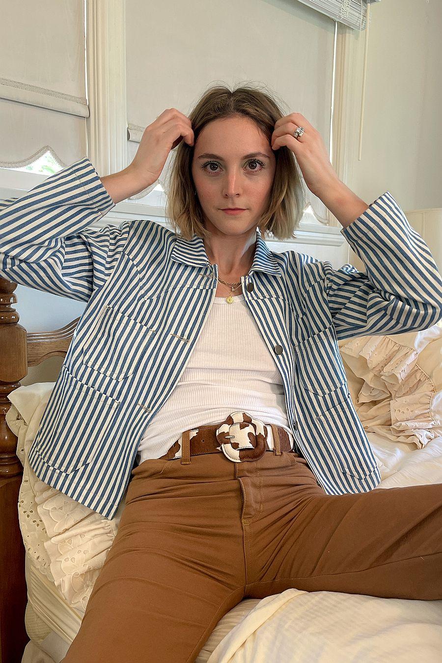 Lykke Wullf Ranch Chore Jacket - Striped