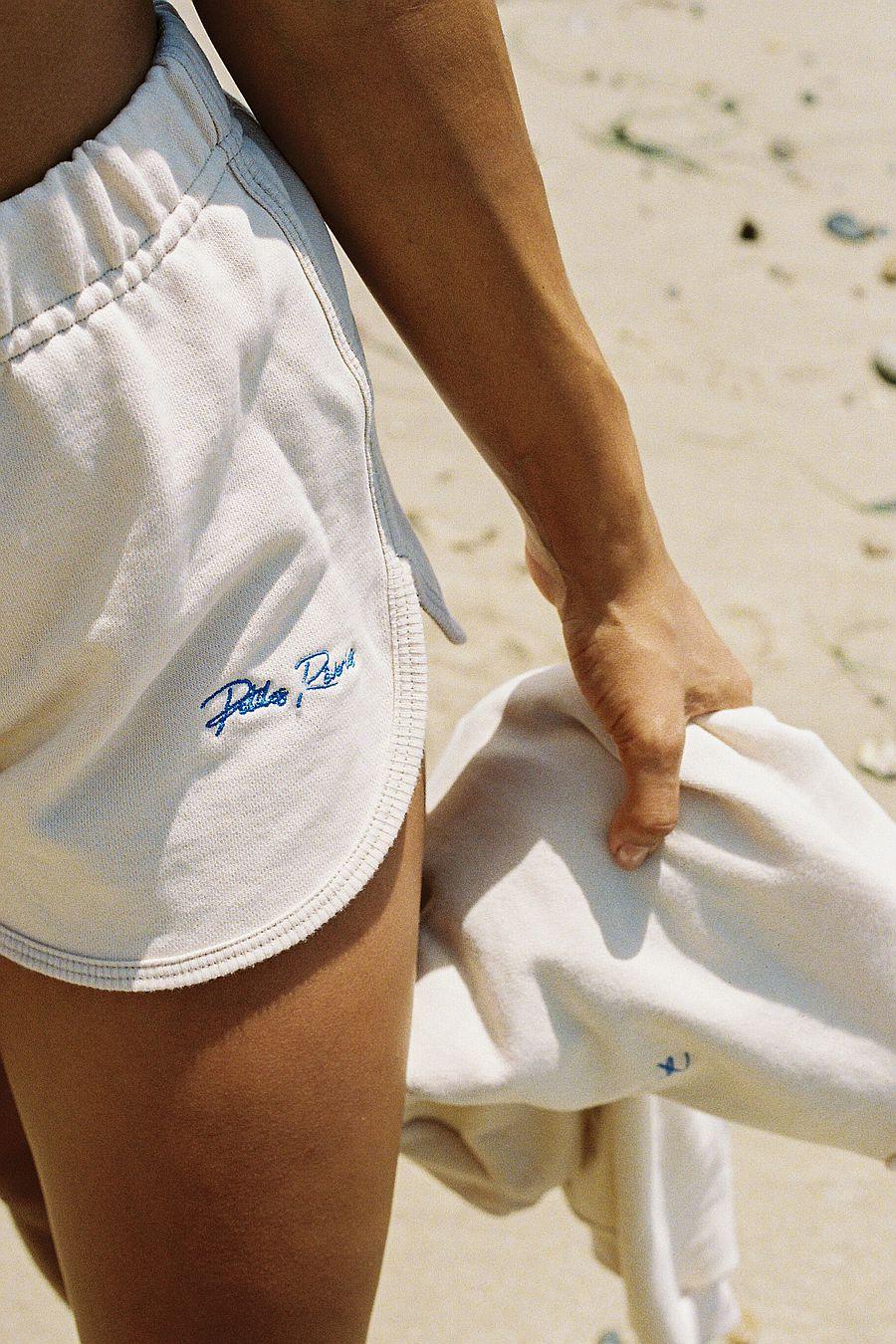 Petites Reveries Dolphin Shorts   Cream & Blue