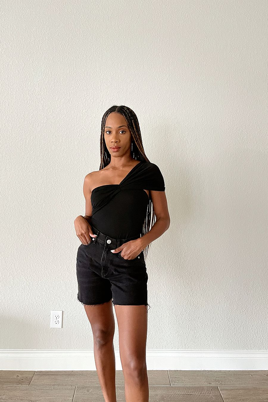 The Line by K Kyo Tube Top - Black