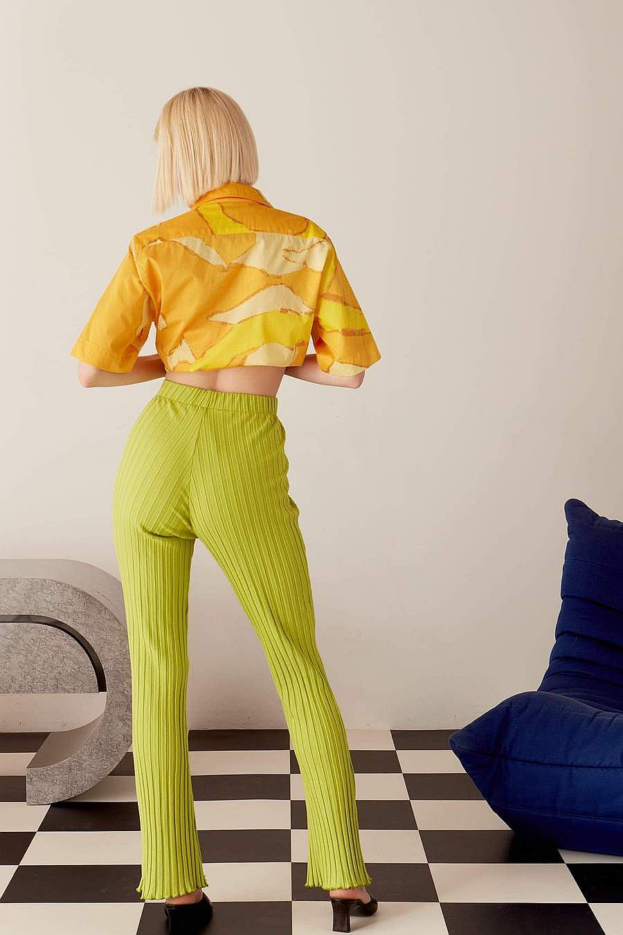 Simon Miller RIB Cyrene Pants - Algae Green