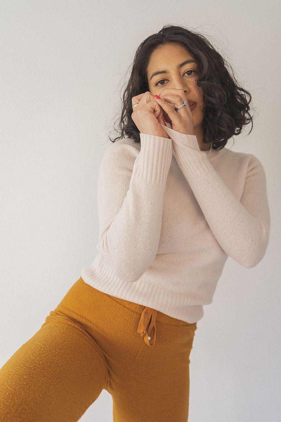 Entireworld Tiny Sweater - Blush