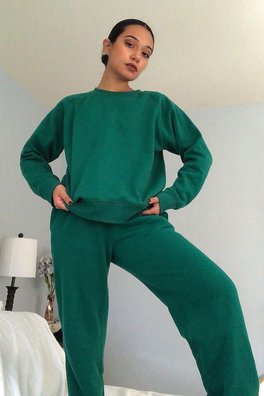Richer Poorer Fleece Sweatpant - Evergreen