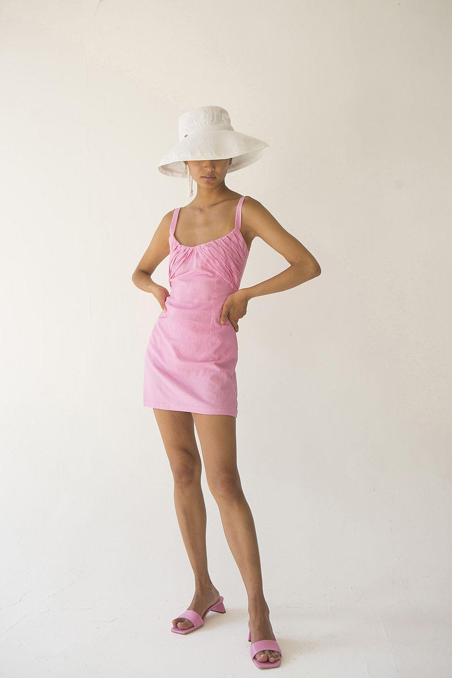 Tach Clothing Maral Linen Dress