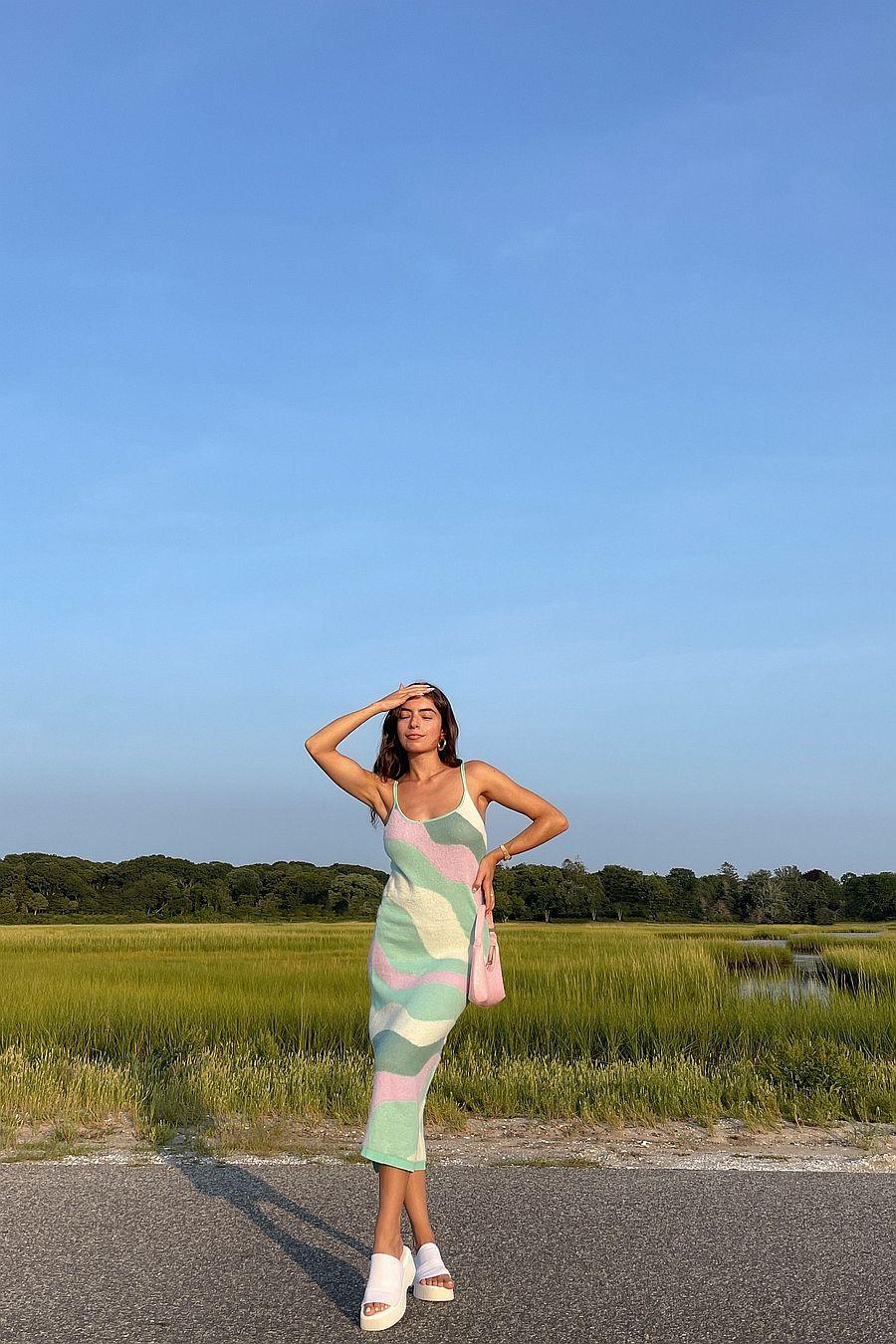 House Of Sunny Good Vibrations Dress