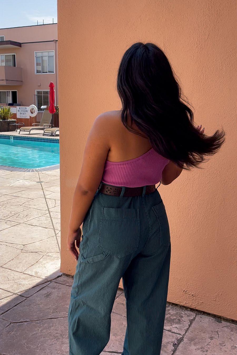 LACAUSA Clothing Austin Trouser - Alpine