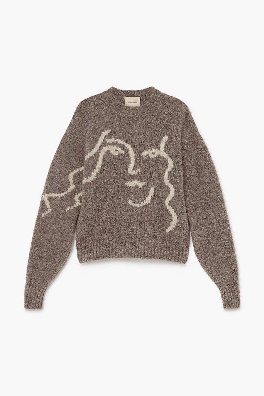 Paloma Wool Anita Sweater - Mid Grey