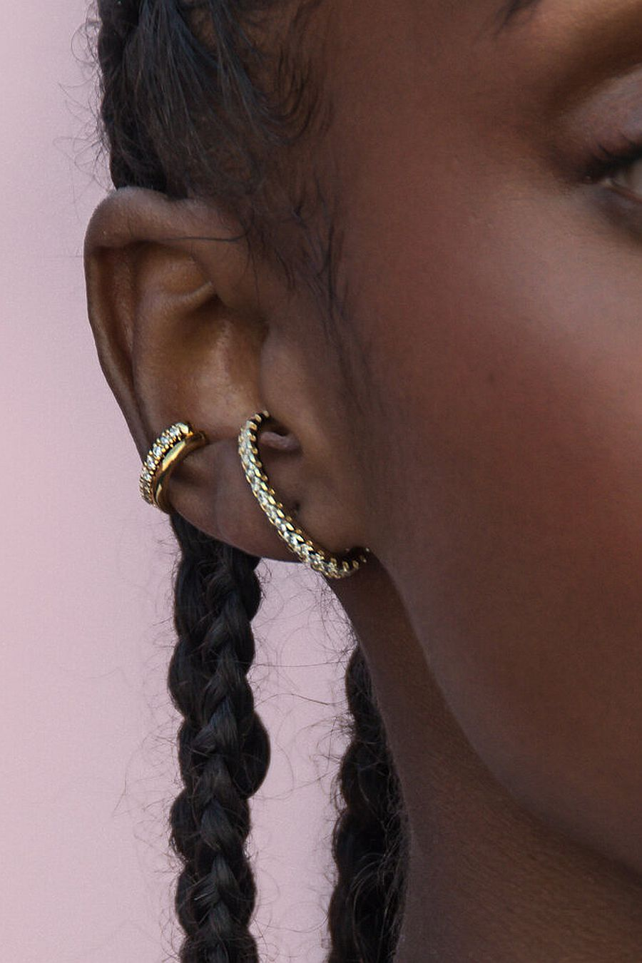 Oma The Label The Neumi Ear Cuff - Stone