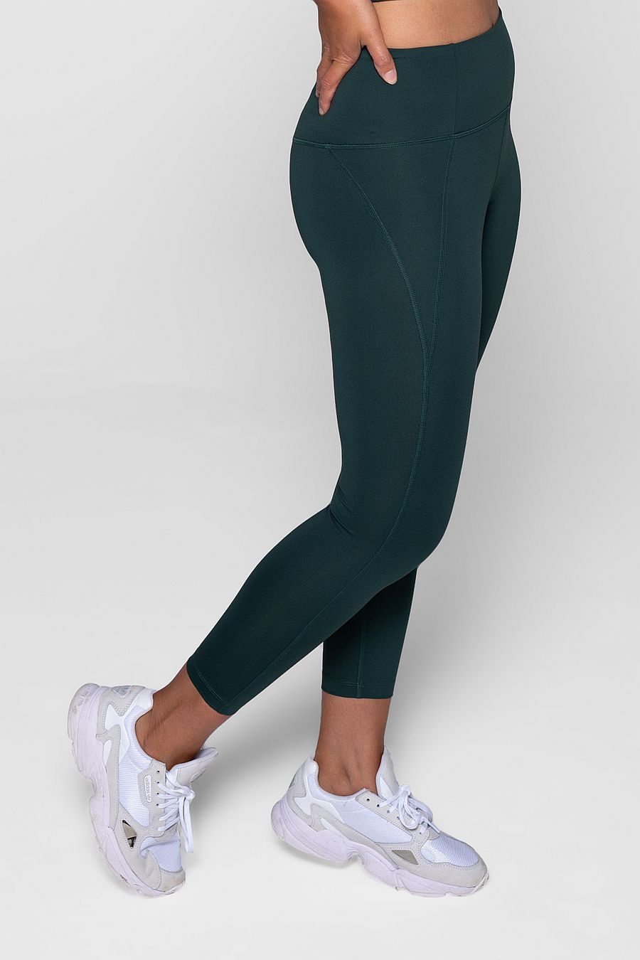"Girlfriend Collective Moss Compressive Legging (23 3/4"")"