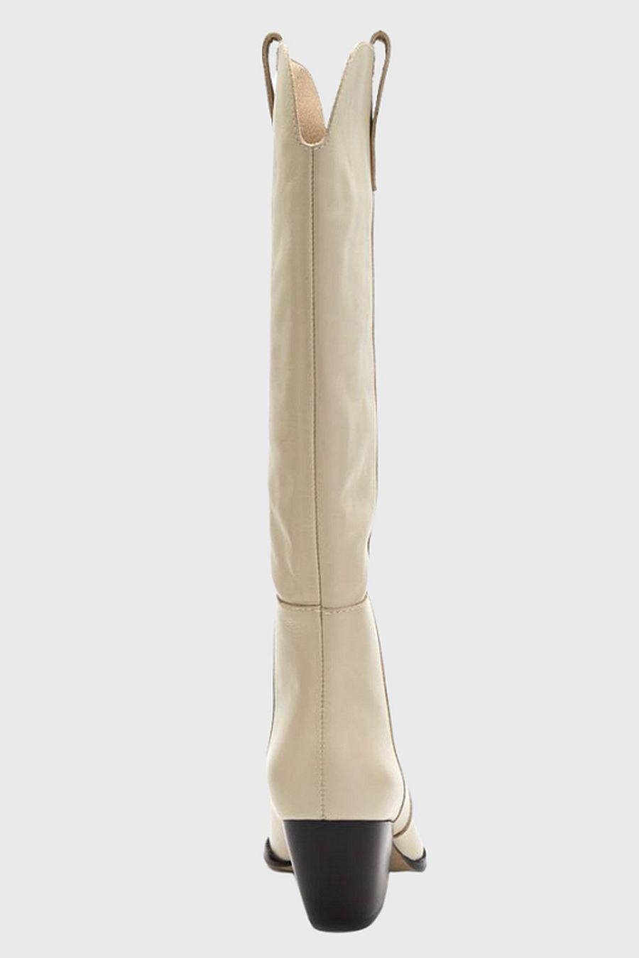 Matisse Footwear Stella Western Boot - bone