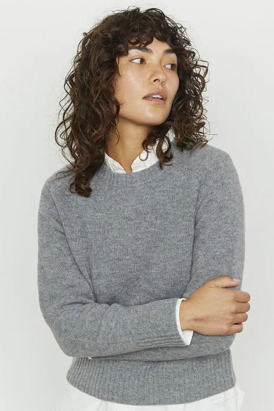 Entireworld Tiny Sweater - Medium Grey