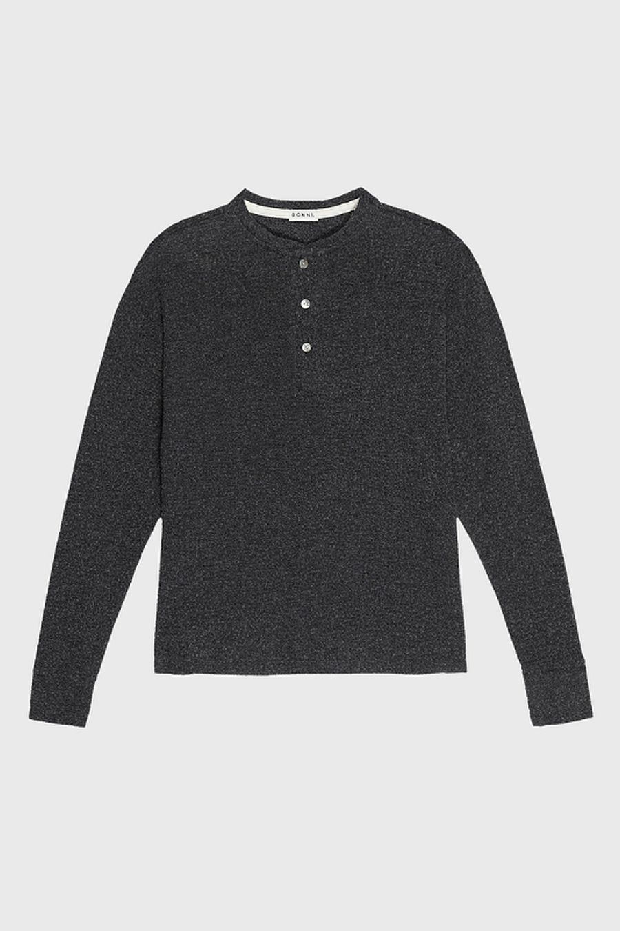 DONNI. Sweater Henley - Jet