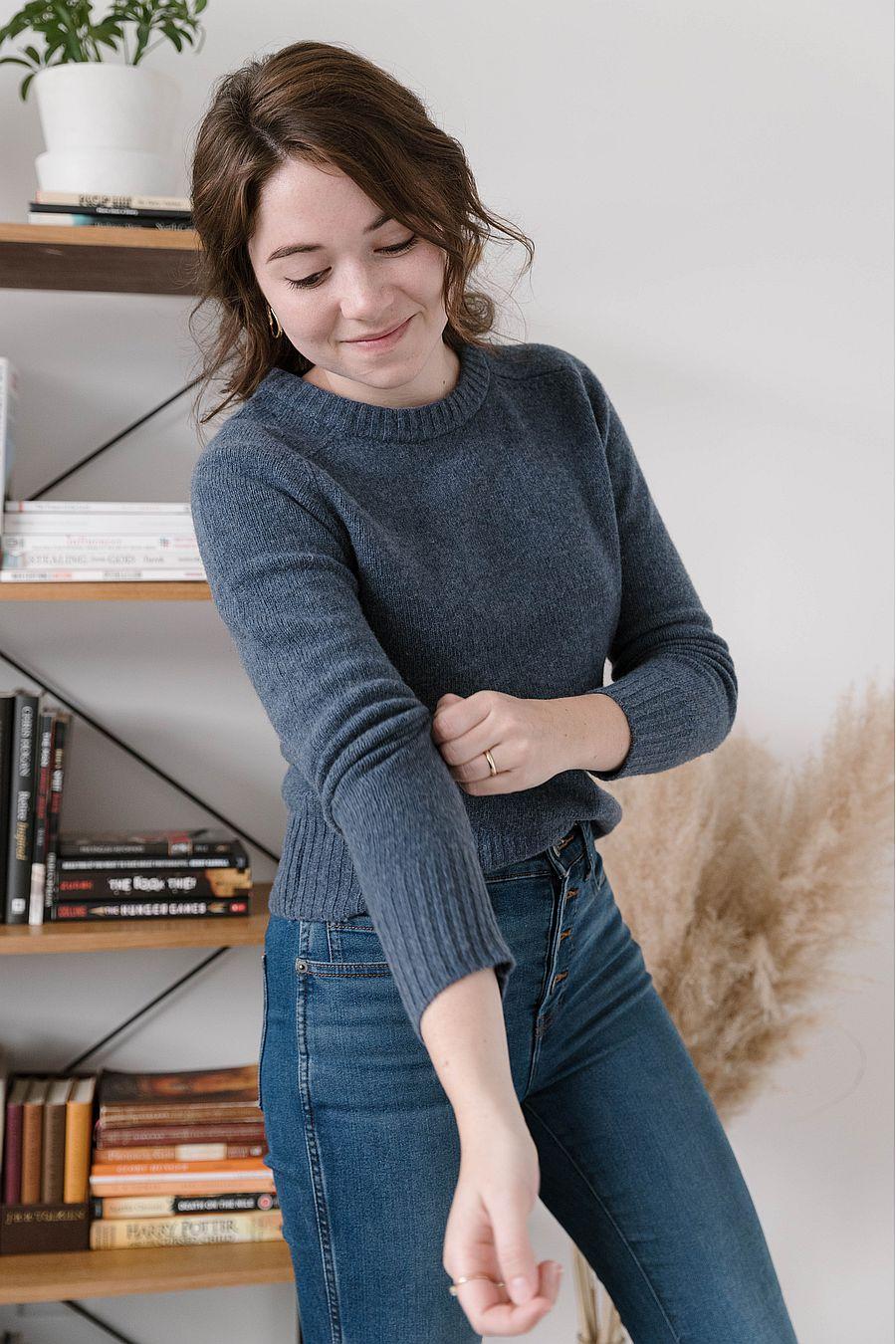 Entireworld Tiny Sweater - Indigo