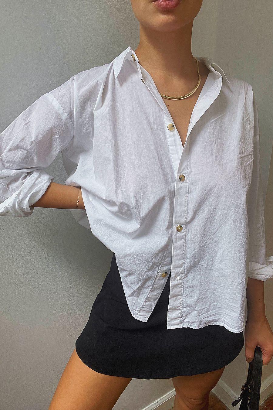 DONNI. Pop Shirt - White