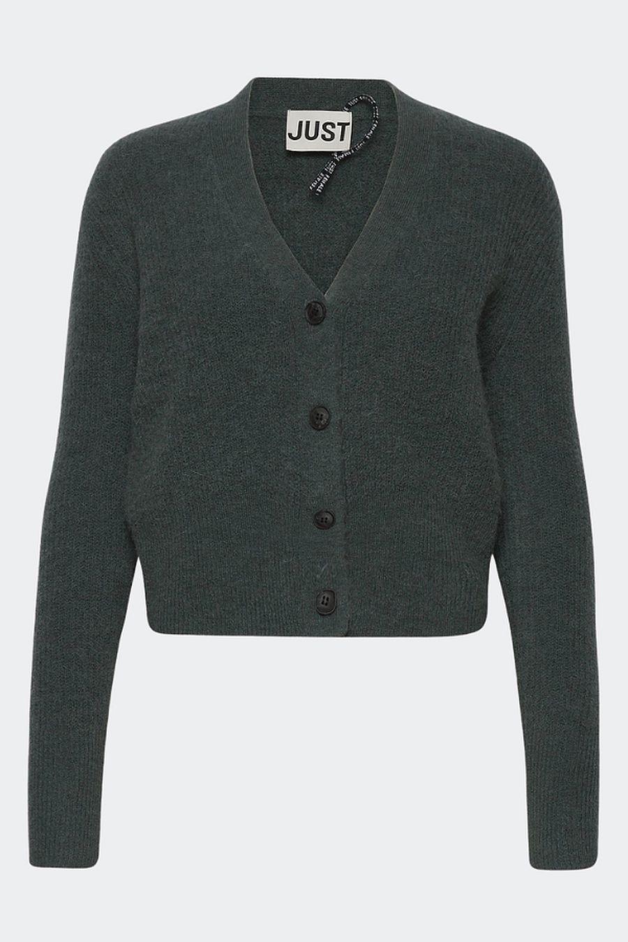Just Female Rebelo Knit Cardigan - Balsam Green