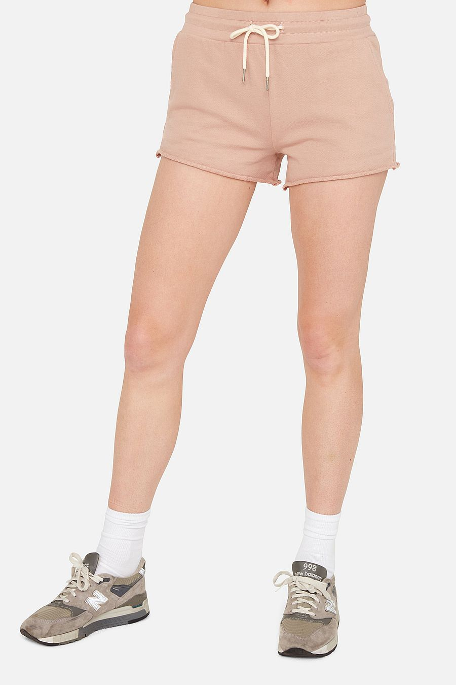 MATE The Label Organic Terry Lounge Short - ROSE