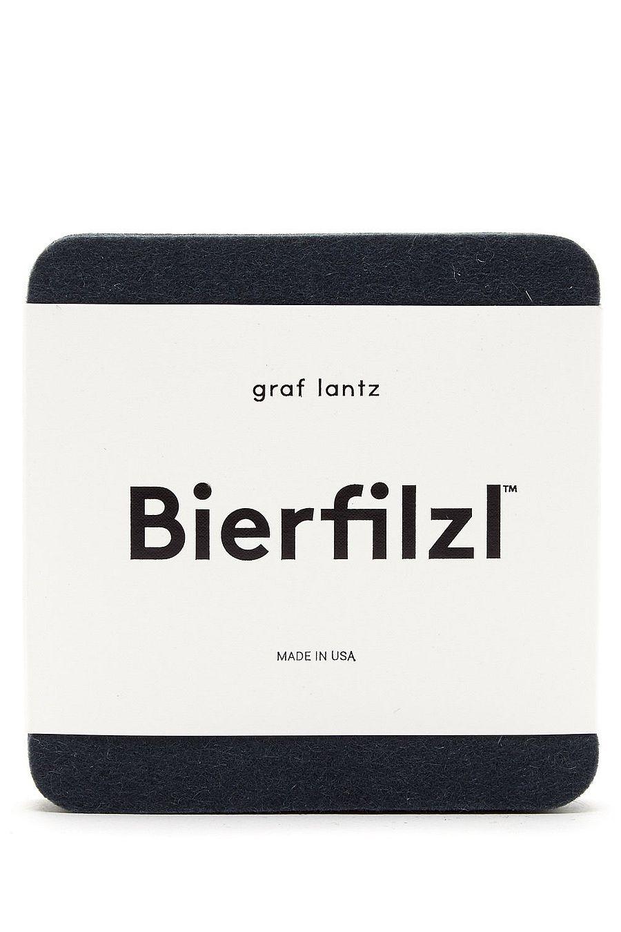 Graf Lantz Bierfilzl Square Felt Coaster - Alpine