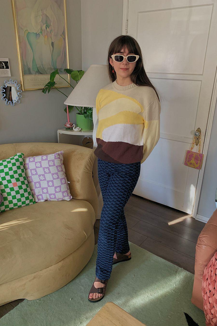 House Of Sunny Landscape Knit