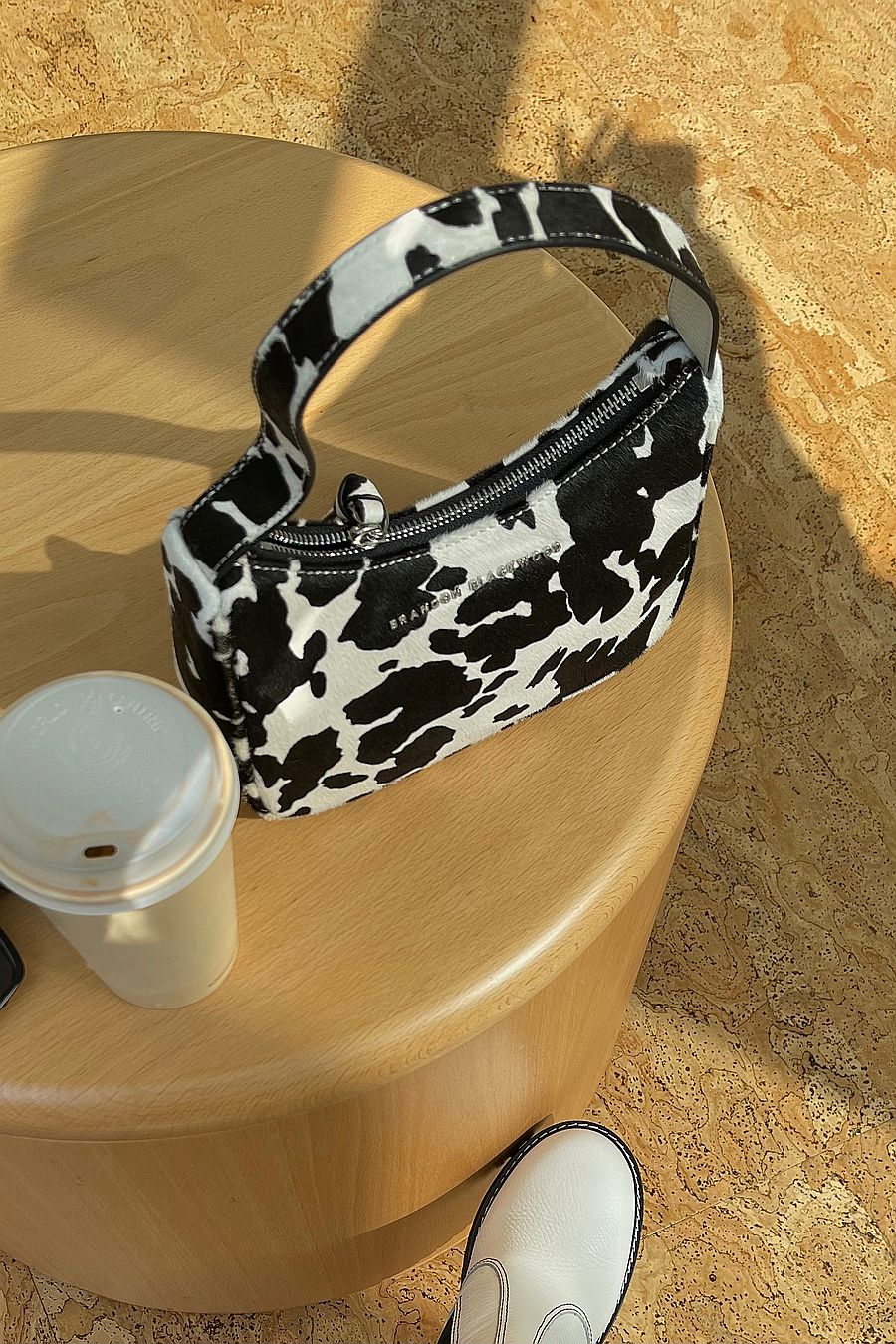 Brandon Blackwood Syl Bag - Cow Ponyhair