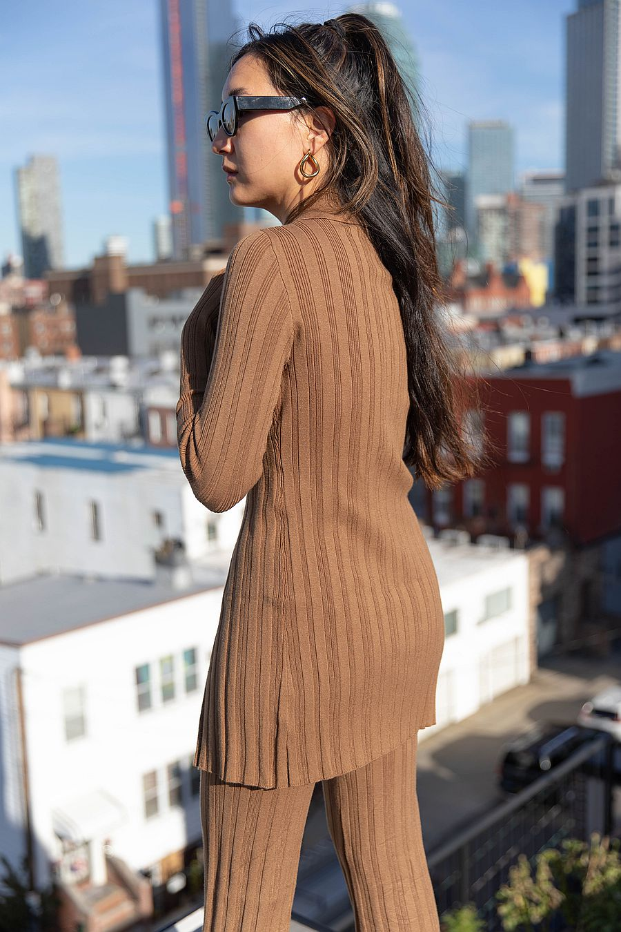 Find Me Now Blakely Knit Top - Umber