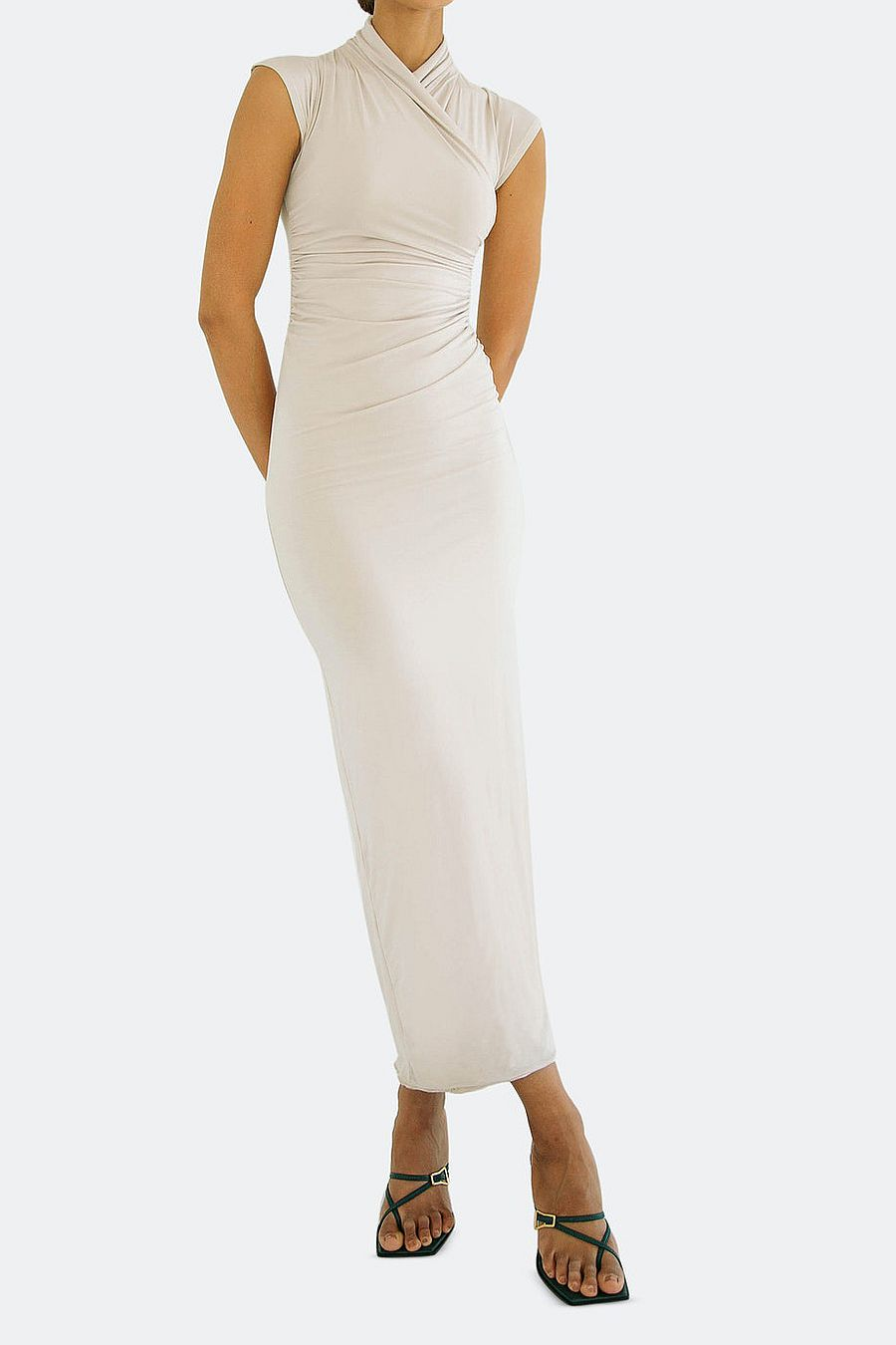 The Line by K Sinea Dress - Clay