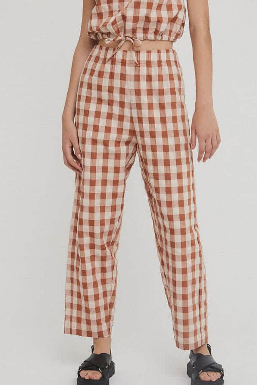 Rita Row Alfi - Brown Check