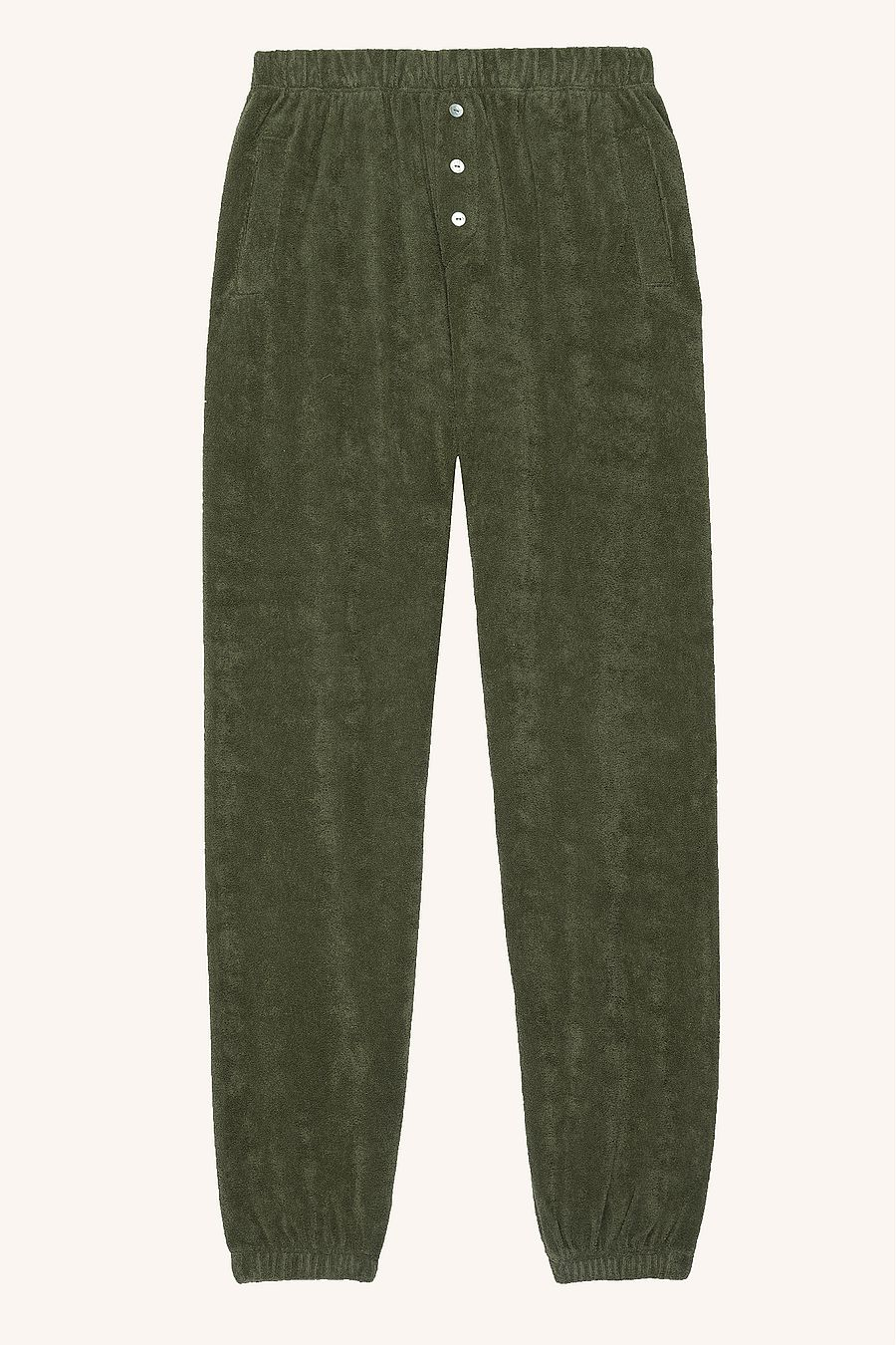 DONNI. Terry Henley Sweatpant - Basil