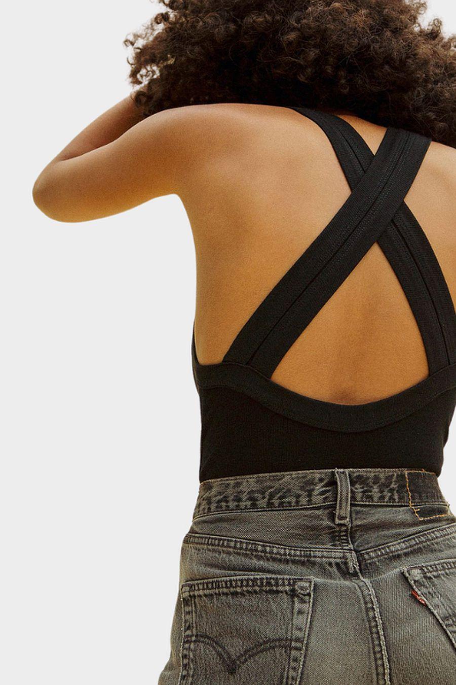 The Line by K Suki Bodysuit - Black