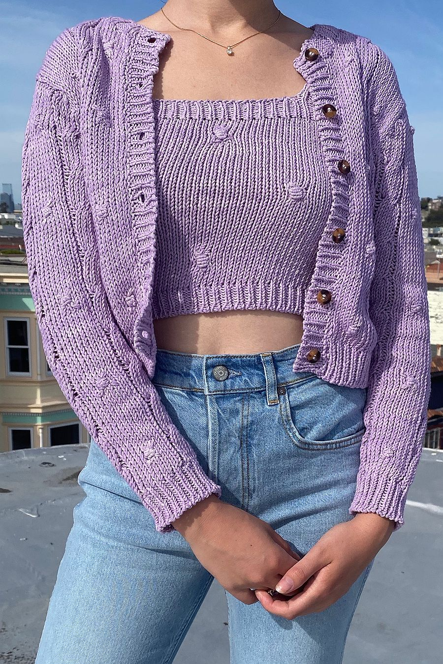 Tach Clothing Zuri Knit Top