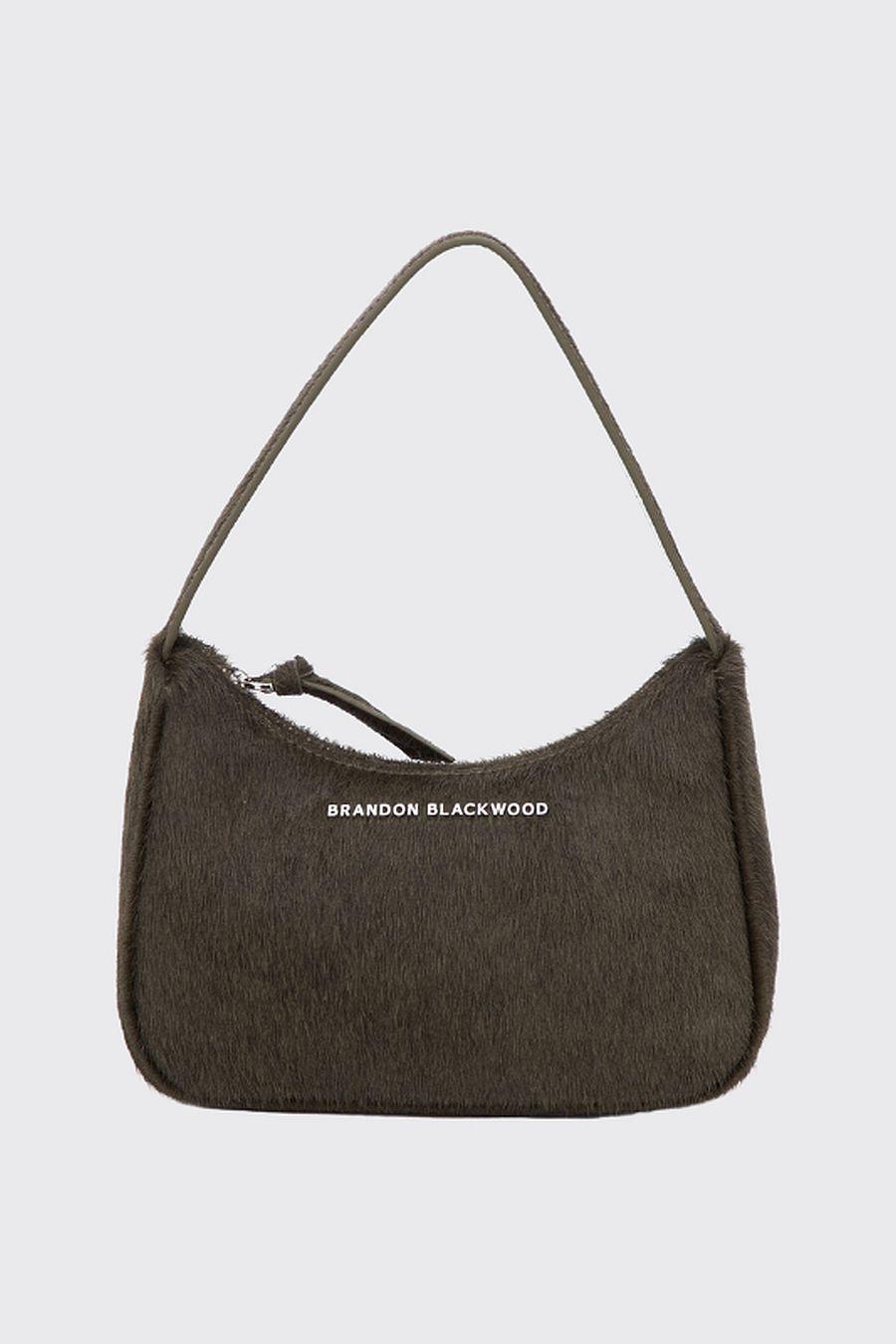 Brandon Blackwood SYL Bag - Green Ponyhair