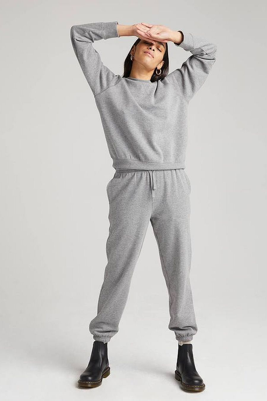 Richer Poorer Recycled Fleece Sweatpant - Heather Grey