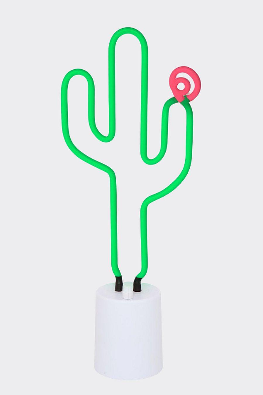 Sunny Life Neon Light Large Cactus