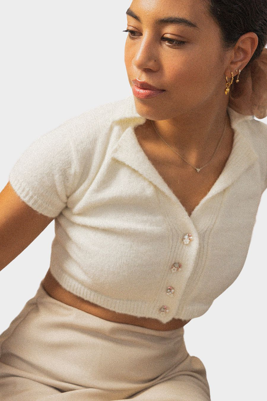 Tach Clothing Lenka Cardigan - Cream