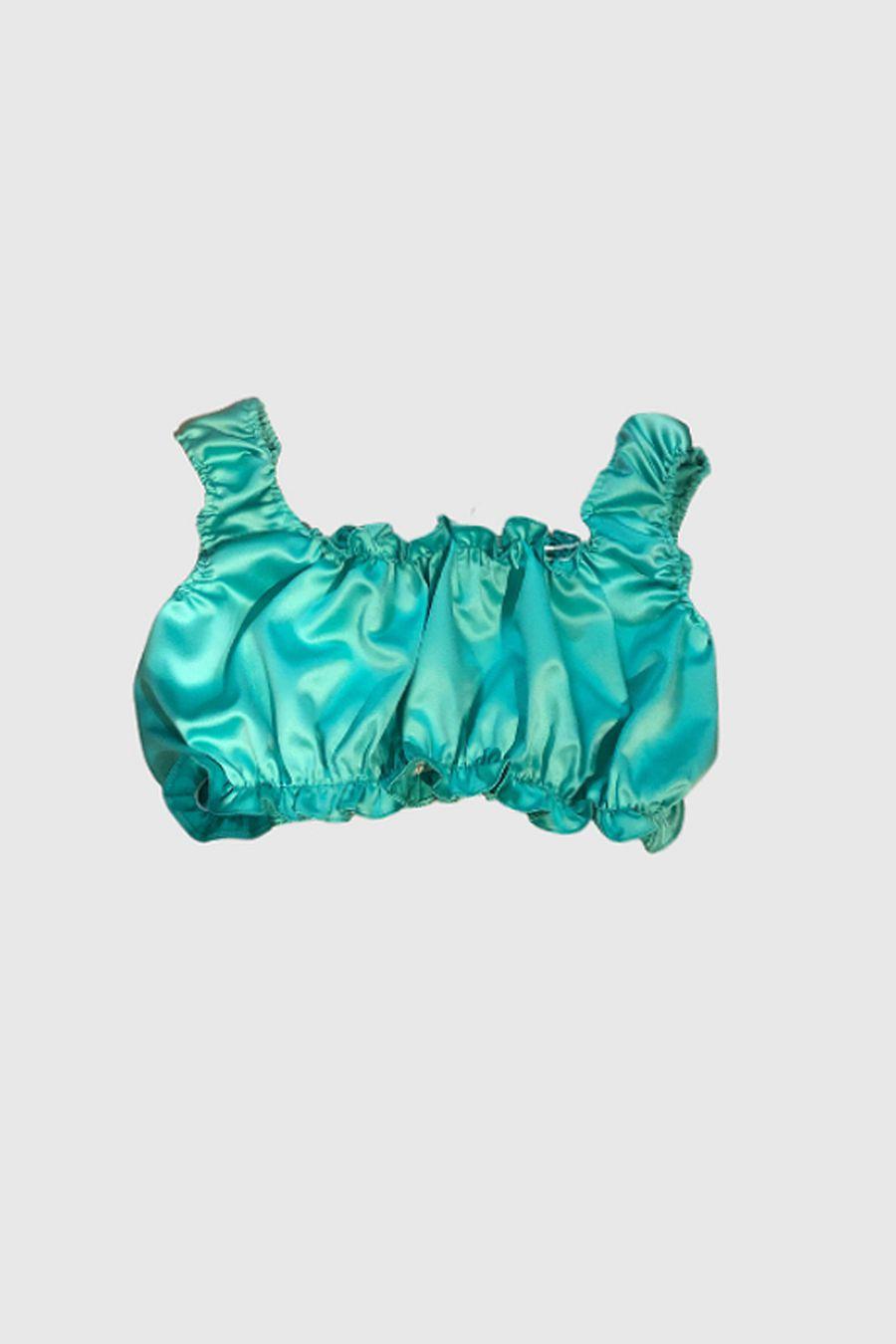 Tach Clothing Goda Silk Top - Aqua