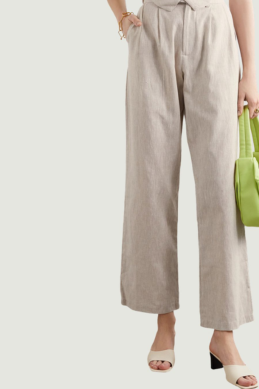 The Line by K Bettina Linen Trousers