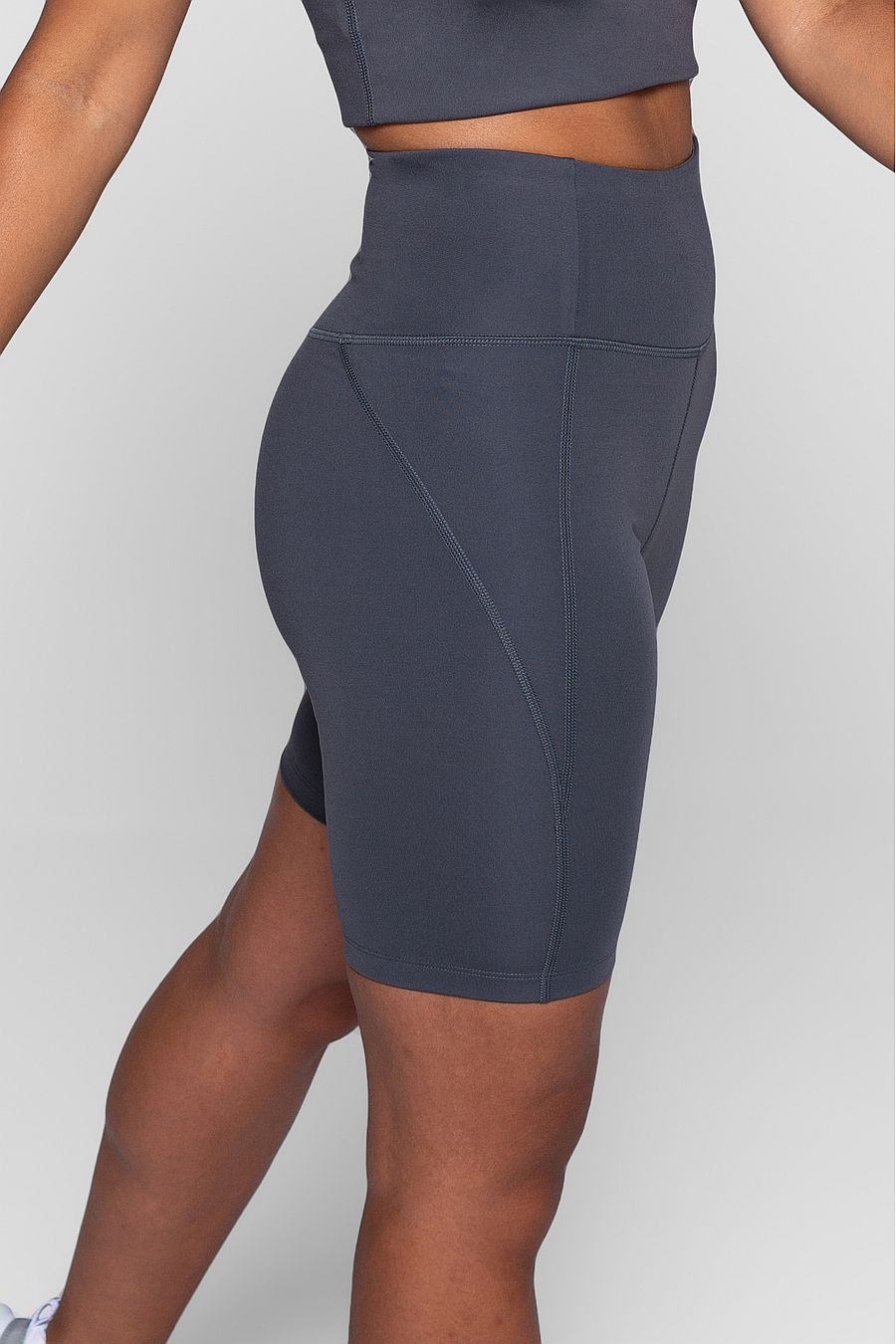 Girlfriend Collective Smoke High Rise Bike Short