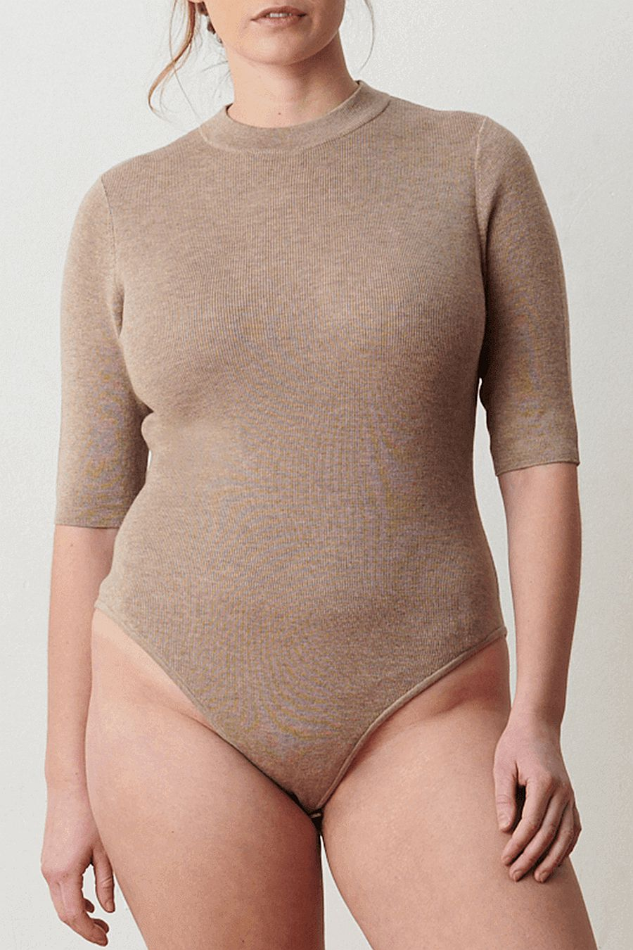 Aday Like A Glove Bodysuit - Taupe