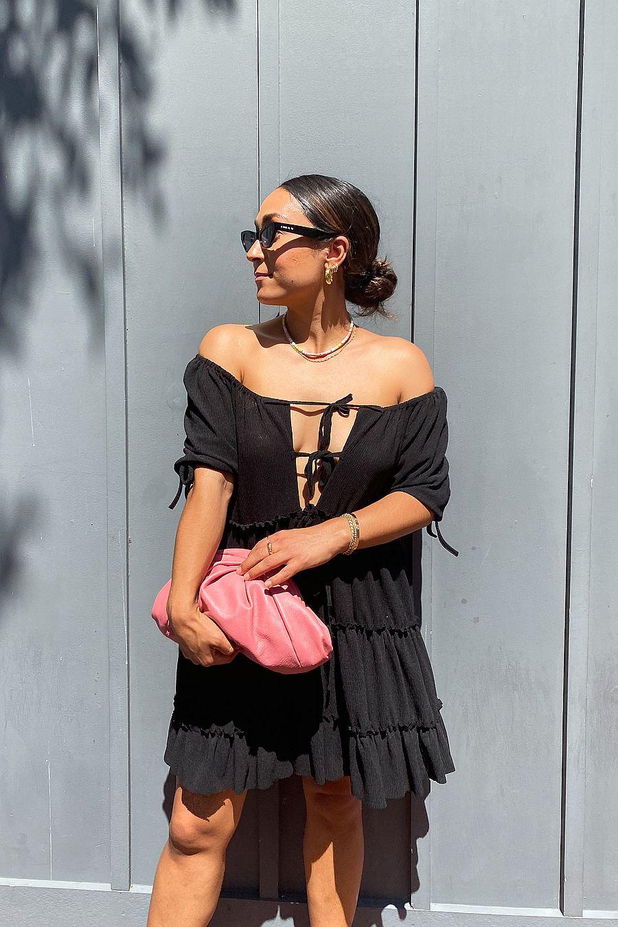 Tach Clothing Leora Dress - Black