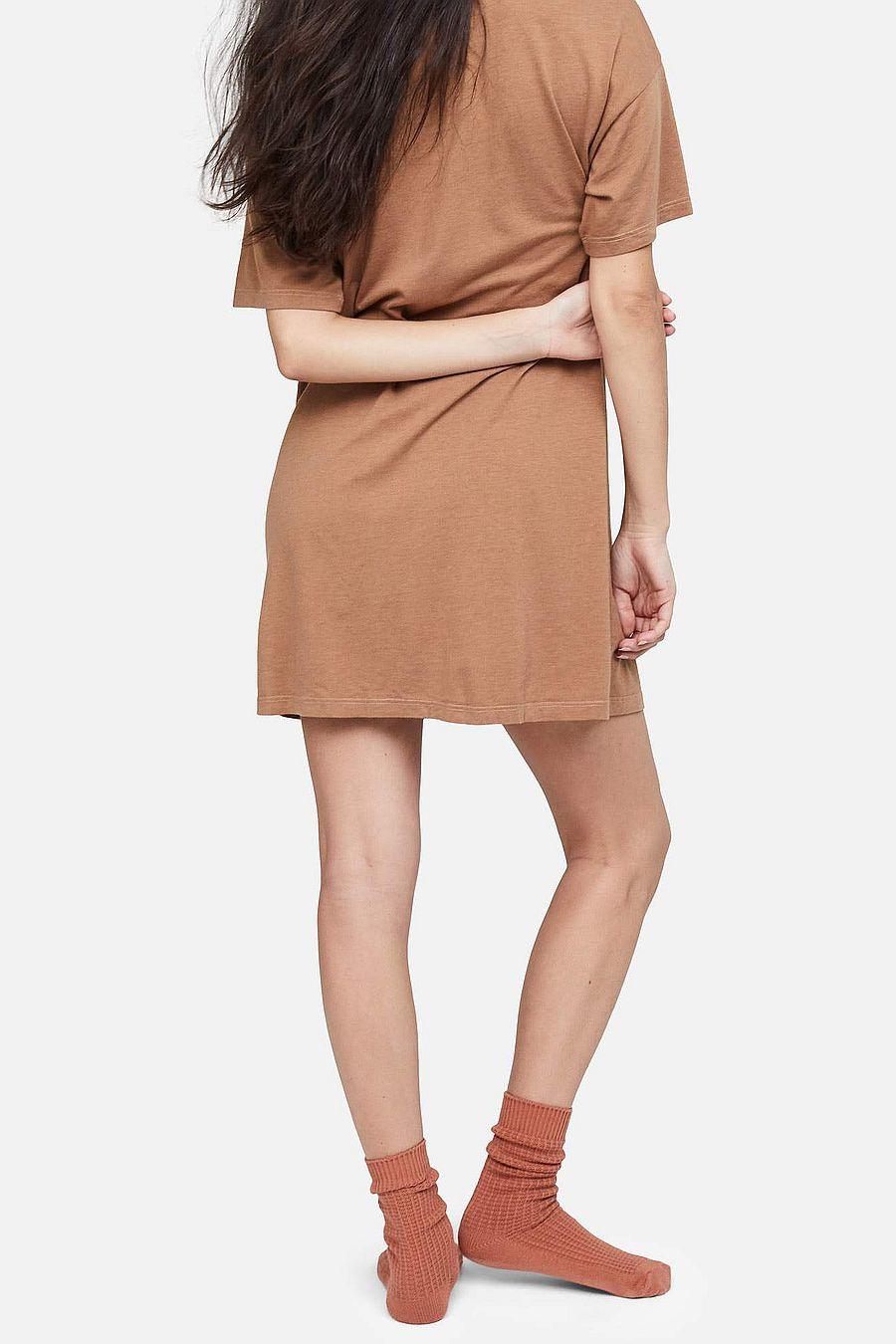 MATE The Label Tencel Sleep Tee Dress - SEDONA