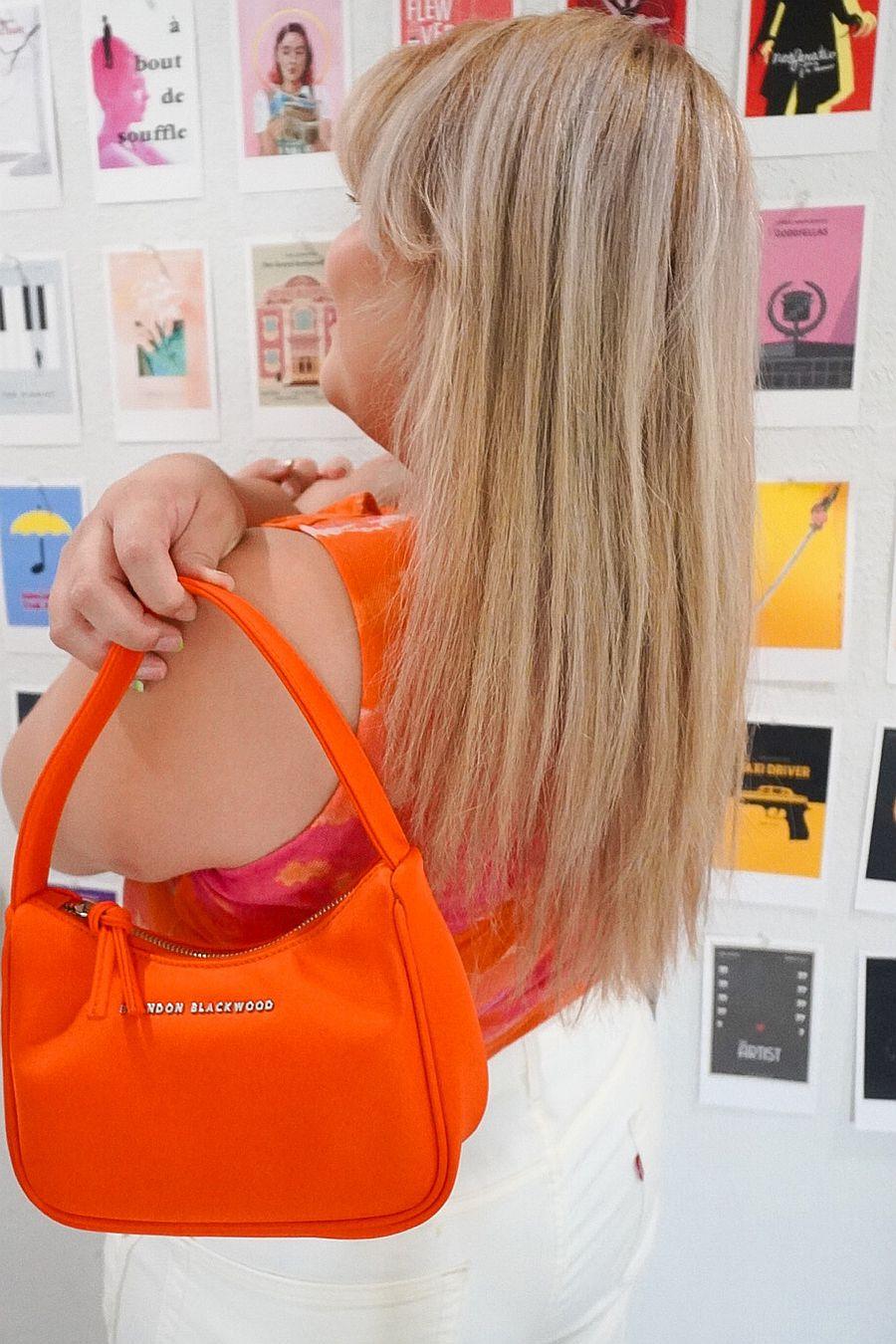 Brandon Blackwood Syl Bag - Orange Nylon