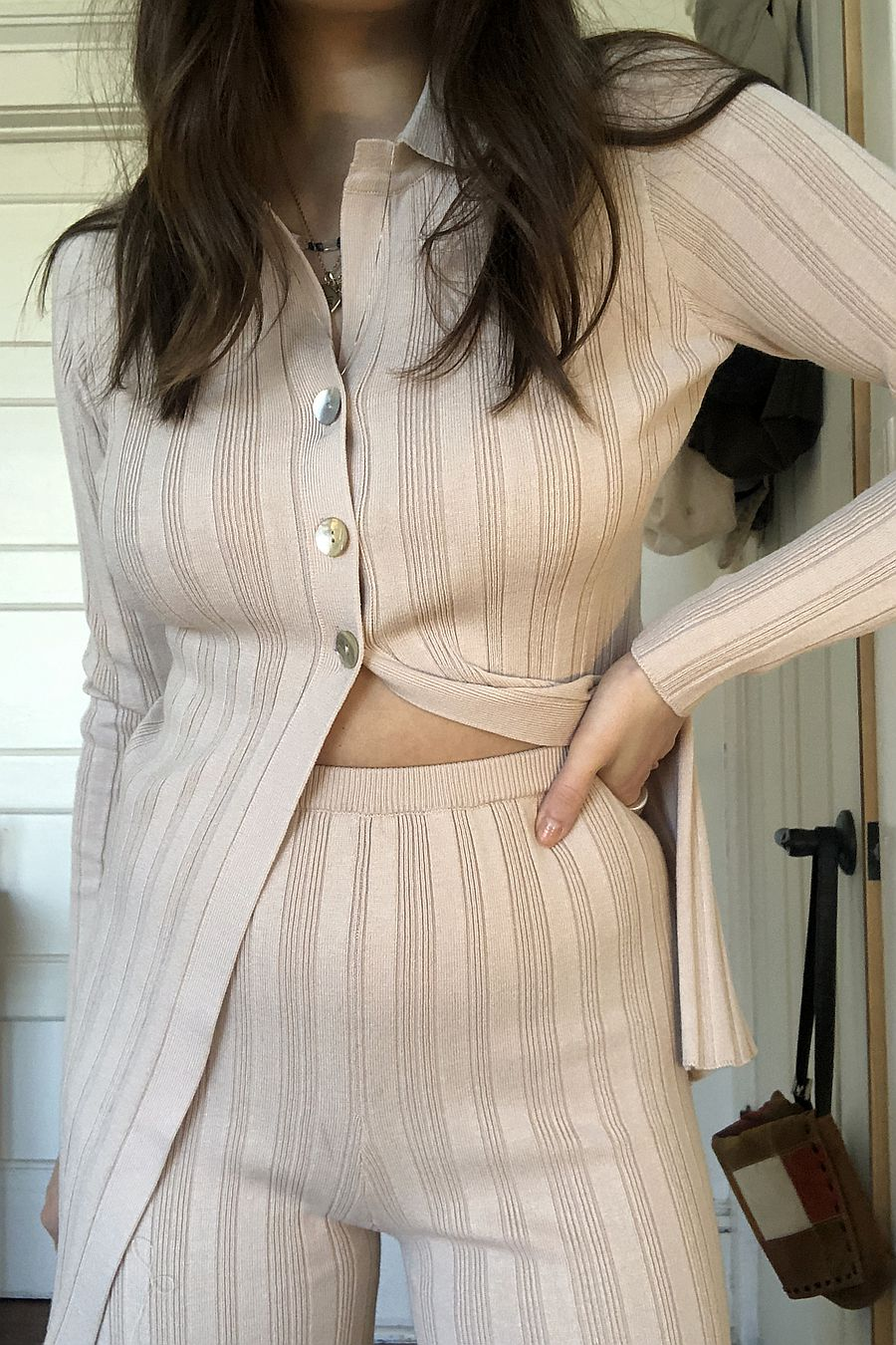 Find Me Now Blakely Knit Top - Oatmeal