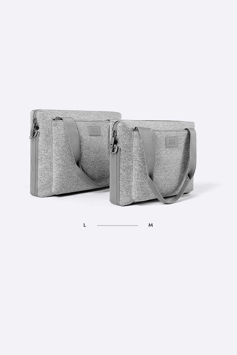 Dagne Dover Ryan Laptop Bag Medium - Heather Grey