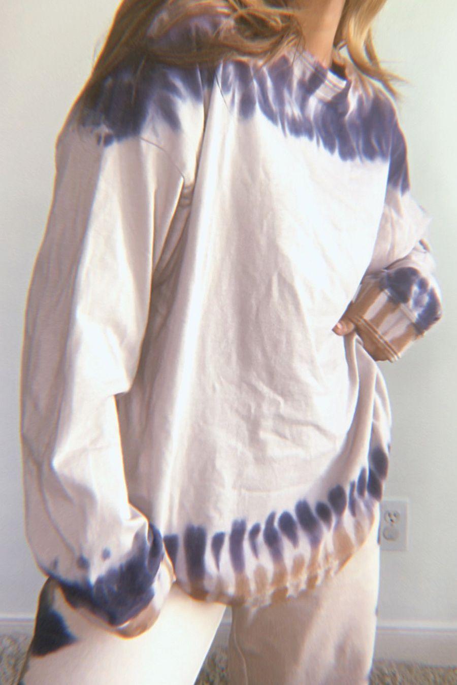 Richer Poorer Relaxed Long Sleeve Tee - Tie Dye