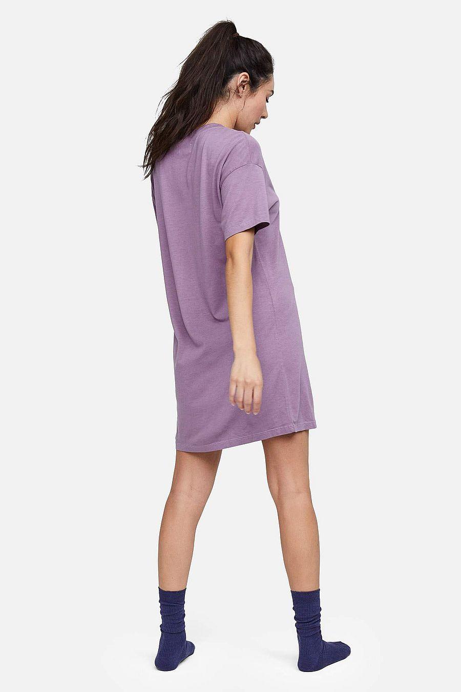 MATE The Label Tencel Sleep Tee Dress - LAVENDER