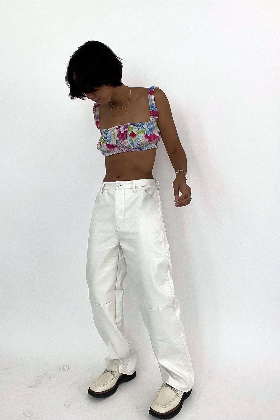 Tach Clothing Goda Silk Top - Floral