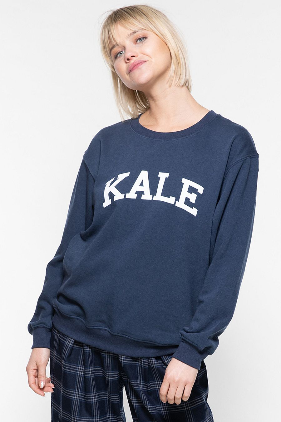 Sub_Urban Riot Kale Willow Sweatshirt - Navy