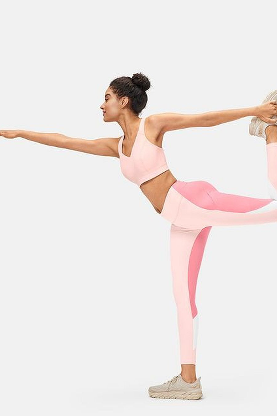 Outdoor Voices Zoom 7/8 Legging - Cosmos/Pink Punch