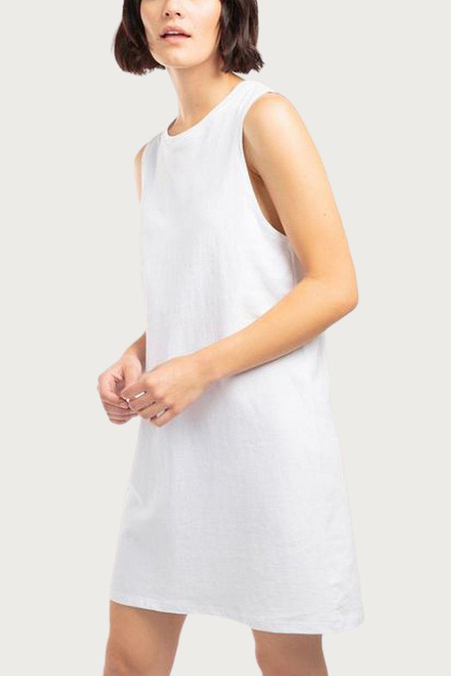 Richer Poorer Women's Tank Dress - White