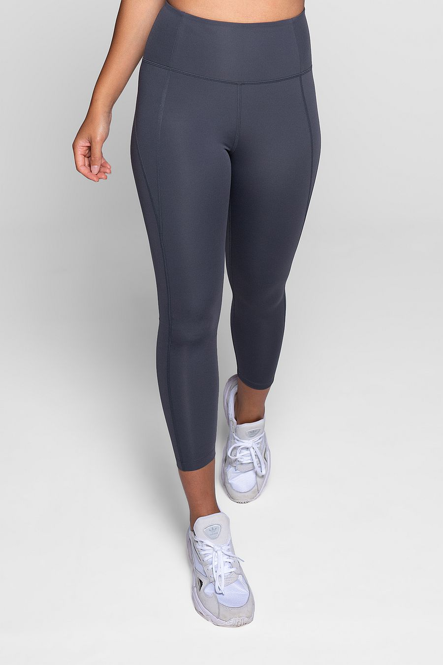 "Girlfriend Collective Smoke Compressive Legging (23 3/4"")"